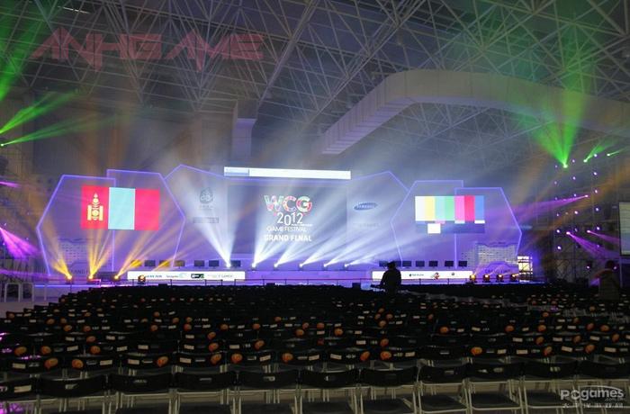 Soi địa điểm tổ chức vòng chung kết WCG 2012
