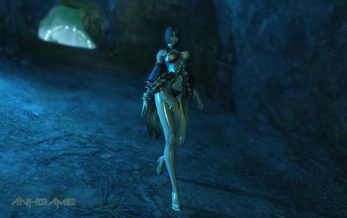 Những đôi chân dài miên man trong Blade & Soul (2)
