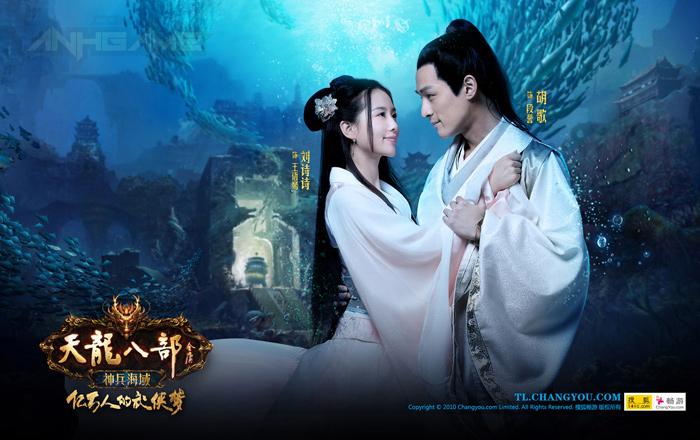 Bộ ảnh quảng cáo tuyệt đẹp của Thiên Long Bát Bộ - Ảnh 1