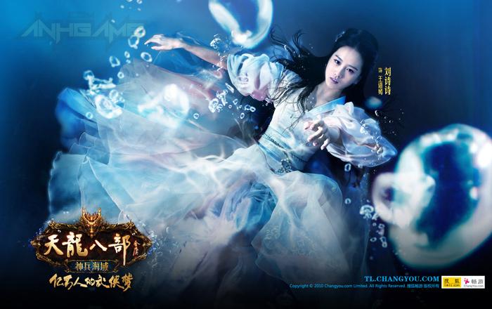 Bộ ảnh quảng cáo tuyệt đẹp của Thiên Long Bát Bộ - Ảnh 4