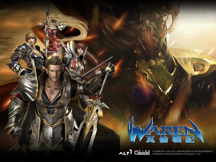 Hình nền ấn tượng về các lớp nhân vật trong Waren - Ảnh 2
