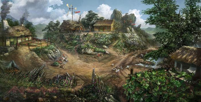 Tham quan Hiệp Khách Giang Hồ 2 qua tranh vẽ