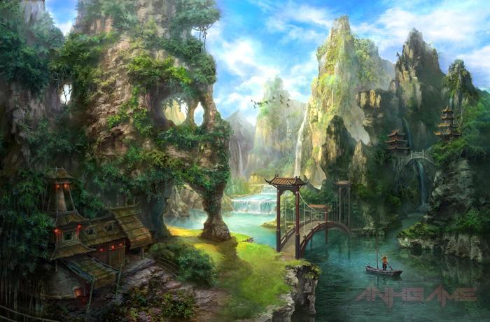 Tham quan Hiệp Khách Giang Hồ 2 qua tranh vẽ - Ảnh 6