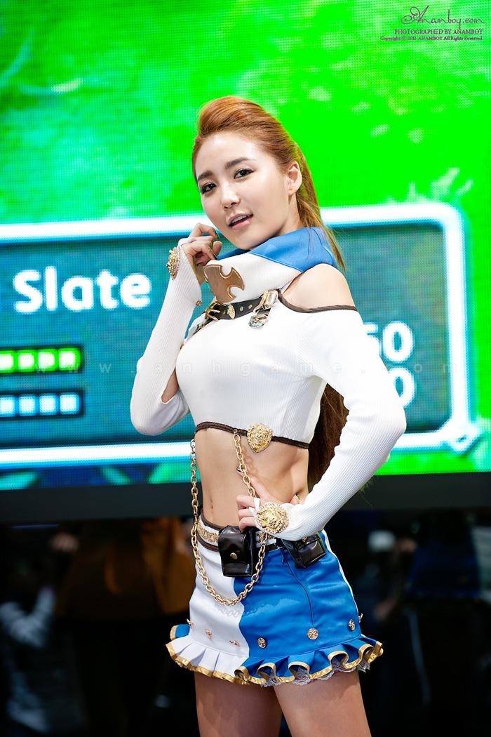 Showgirl G star 2012: Bang Eun Young