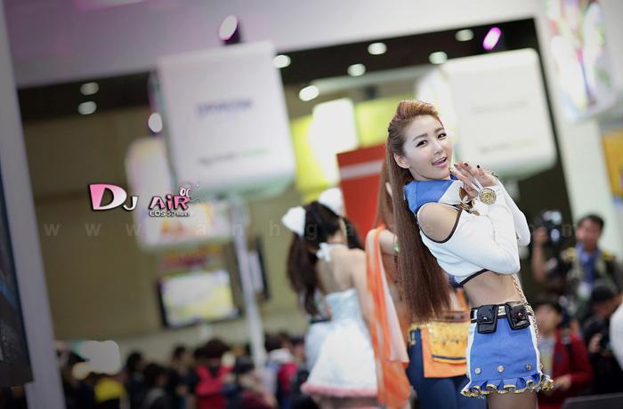 Showgirl G-star 2012: Bang Eun Young - Ảnh 35