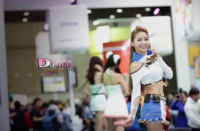 Showgirl G-star 2012: Bang Eun Young - Ảnh 38