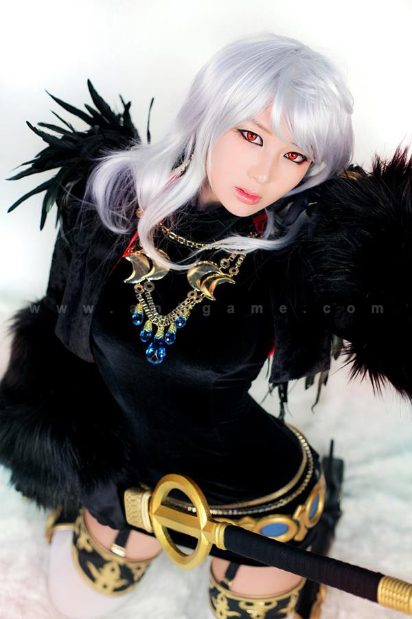 Cosplay Ghost Knight gợi cảm trong Dungeon & Fighter - Ảnh 3