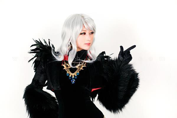 Cosplay Ghost Knight gợi cảm trong Dungeon & Fighter
