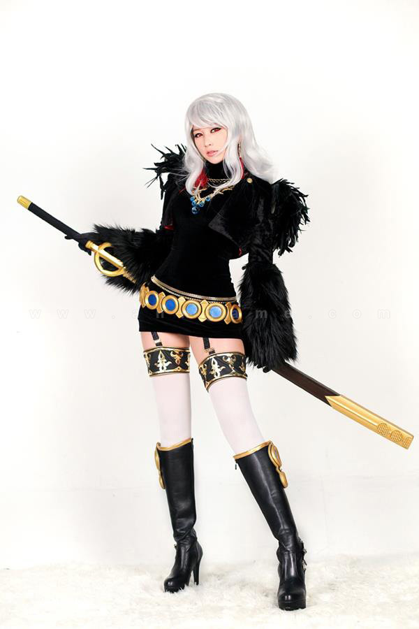 Cosplay Ghost Knight gợi cảm trong Dungeon & Fighter - Ảnh 9