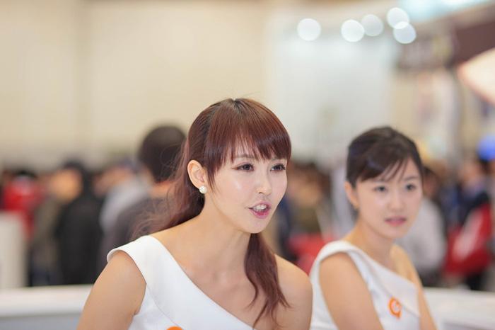Showgirl G-star 2012: Kang Yui - Ảnh 11