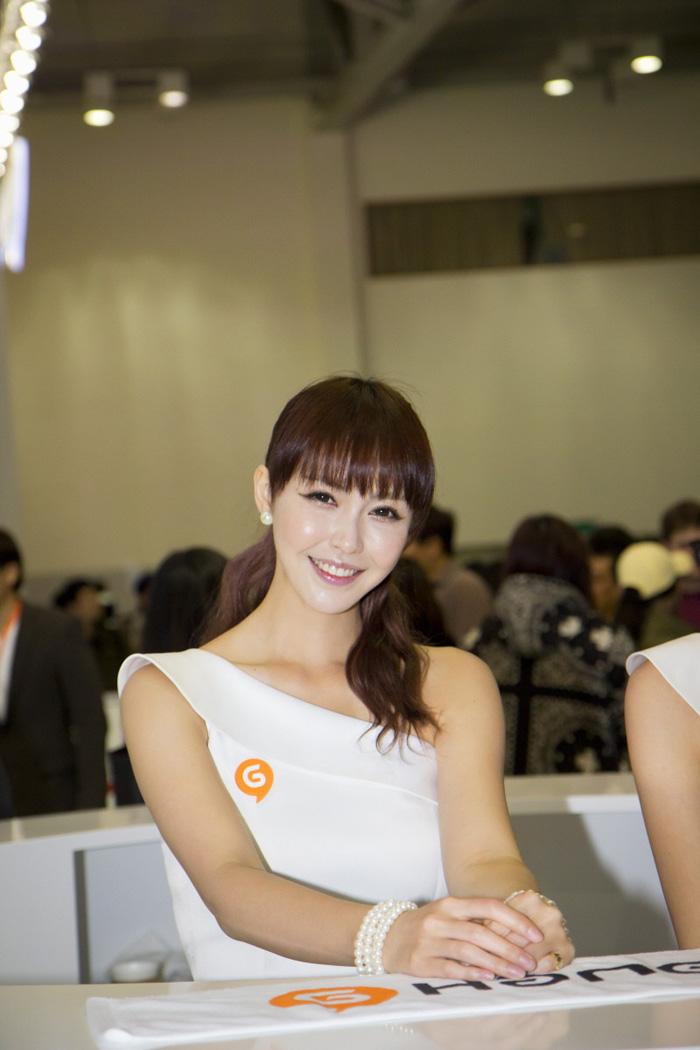 Showgirl G-star 2012: Kang Yui - Ảnh 16