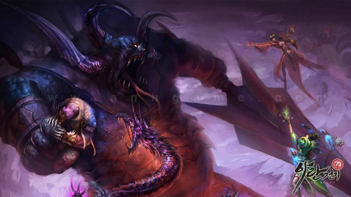 Chiêm ngưỡng hình nguyên họa của Aran Story - Ảnh 7