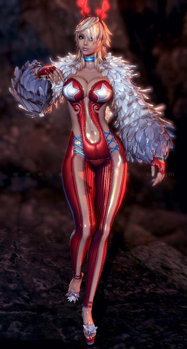 Ngắm trang phục Giáng sinh trong Blade & Soul - Ảnh 8