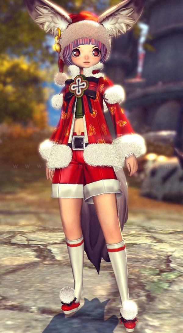 Ngắm trang phục Giáng sinh trong Blade & Soul - Ảnh 11