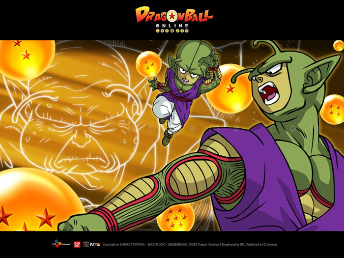 Hình nền tuyệt đẹp của Dragon Ball Online