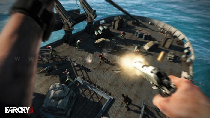 Loạt hình ảnh trong game ấn tượng của Farcry 3