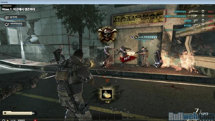 Nghía phiên bản Closed Beta của MMOFPS 18+ Hounds