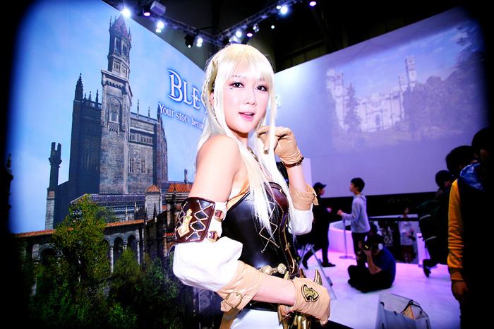 Showgirl G-star 2012: Han Chae Yee - Ảnh 106