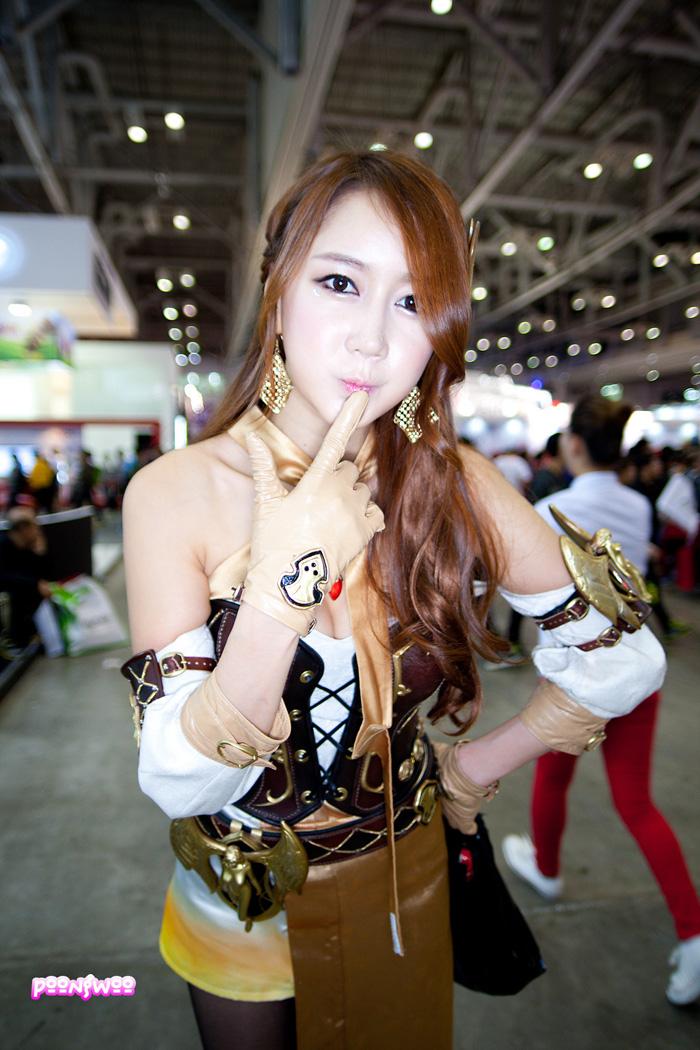 Showgirl G-star 2012: Han Chae Yee - Ảnh 114