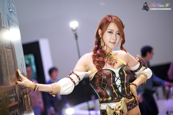 Showgirl G-star 2012: Han Chae Yee - Ảnh 118