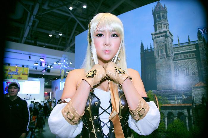 Showgirl G-star 2012: Han Chae Yee - Ảnh 18