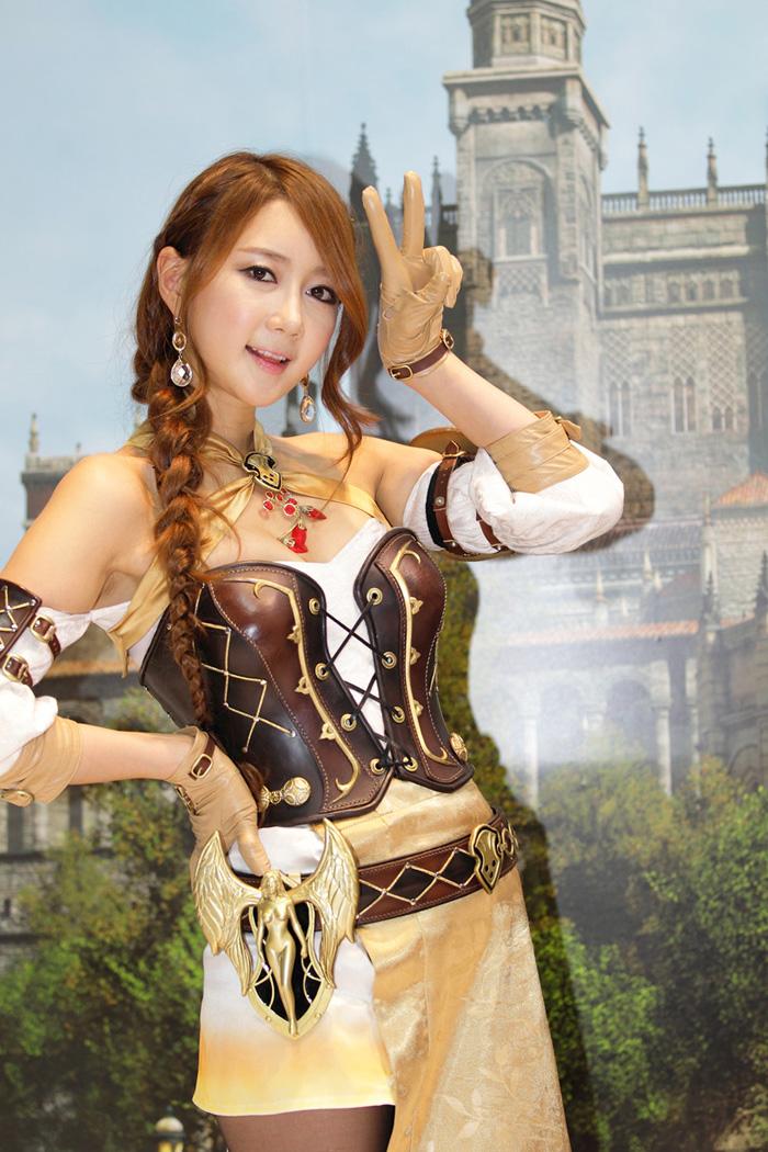 Showgirl G-star 2012: Han Chae Yee - Ảnh 30