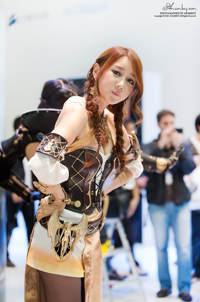 Showgirl G-star 2012: Han Chae Yee - Ảnh 36
