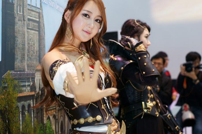 Showgirl G-star 2012: Han Chae Yee - Ảnh 48