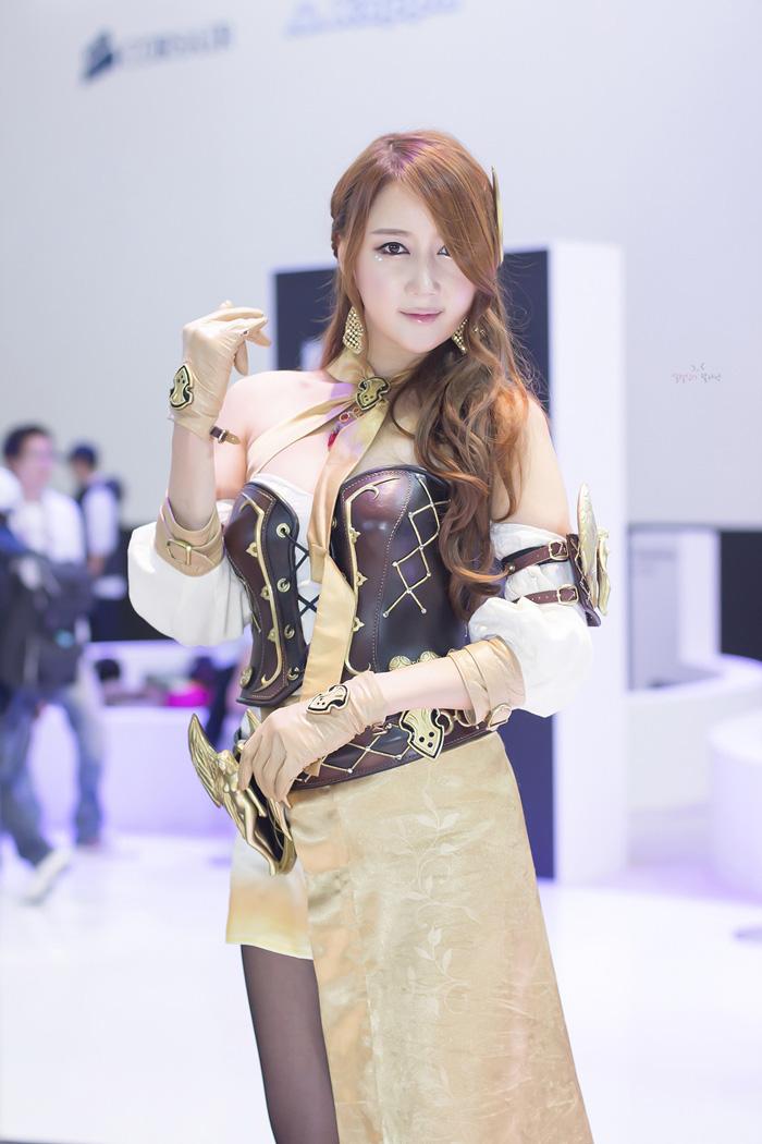 Showgirl G-star 2012: Han Chae Yee - Ảnh 68