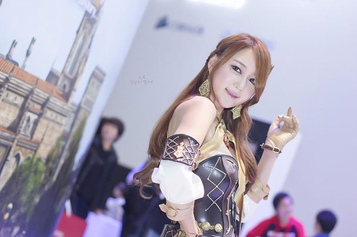 Showgirl G-star 2012: Han Chae Yee - Ảnh 70
