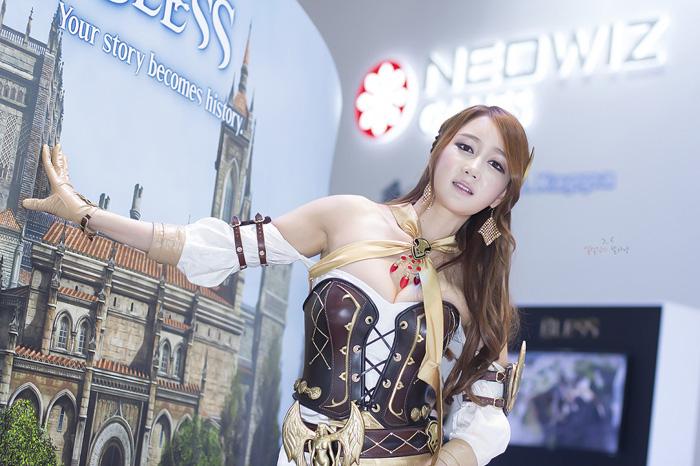 Showgirl G-star 2012: Han Chae Yee - Ảnh 73