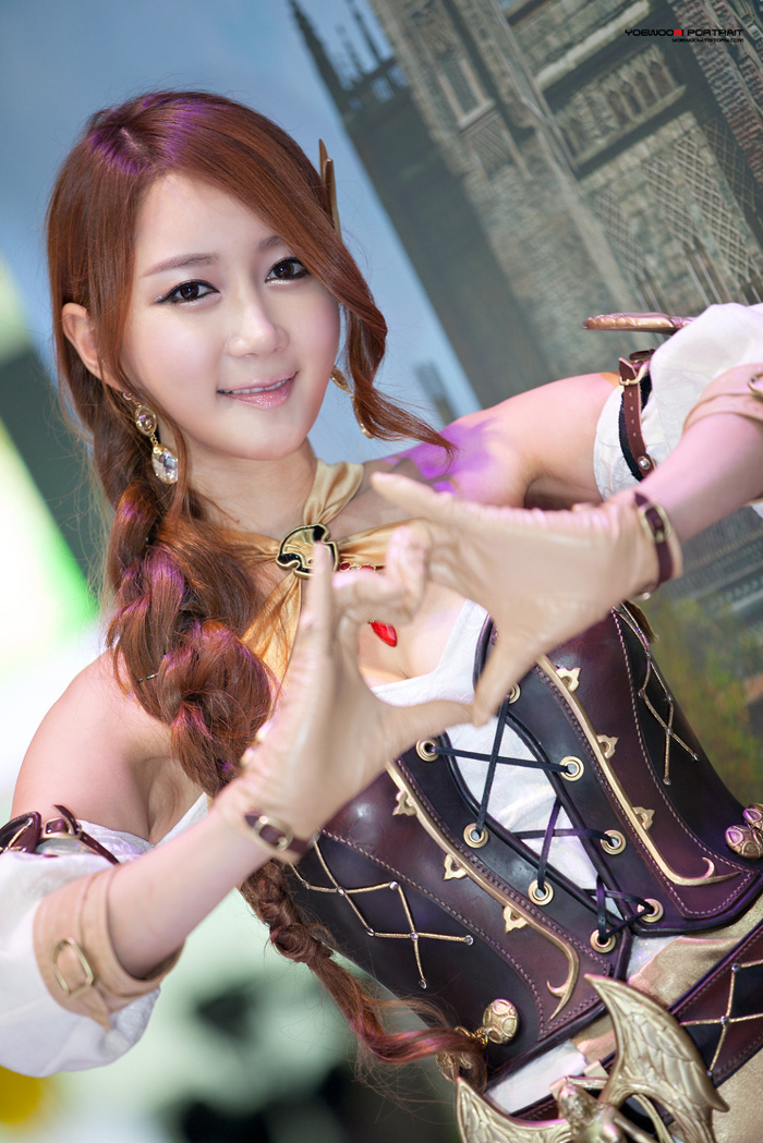 Showgirl G-star 2012: Han Chae Yee - Ảnh 81