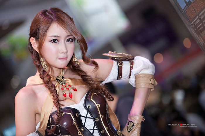 Showgirl G-star 2012: Han Chae Yee - Ảnh 82