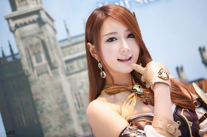 Showgirl G-star 2012: Han Chae Yee - Ảnh 90