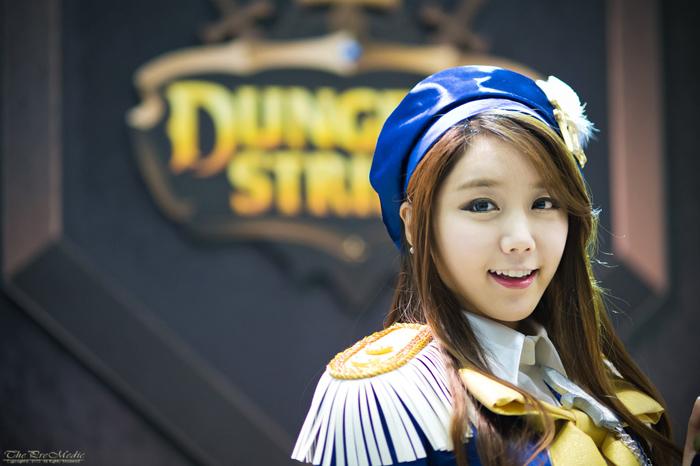 Showgirl G-star 2012: Kim Ha Eum - Ảnh 1