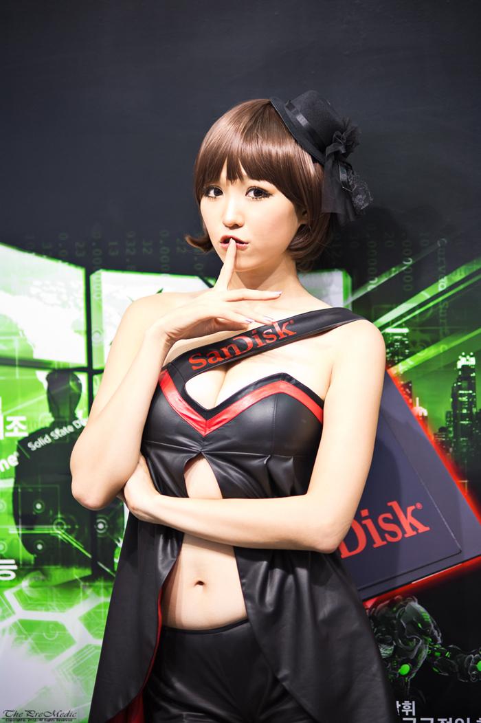 Showgirl G-star 2012: Lee Eun Hye - Ảnh 2