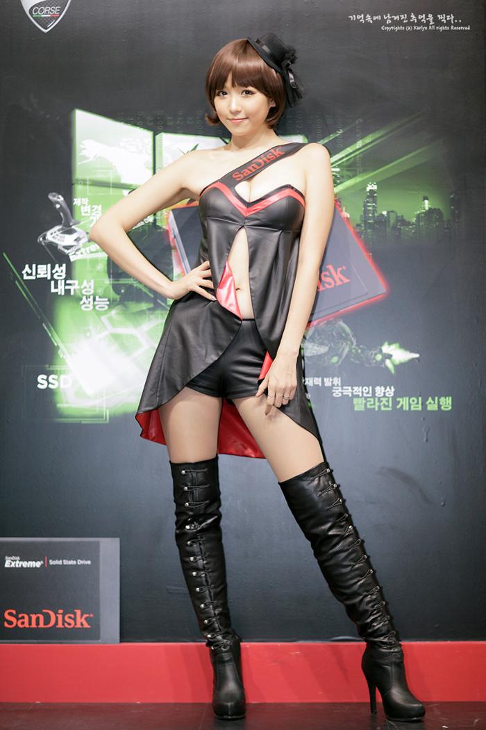 Showgirl G-star 2012: Lee Eun Hye - Ảnh 3