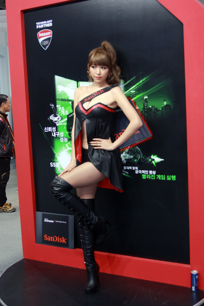 Showgirl G-star 2012: Lee Eun Hye - Ảnh 16