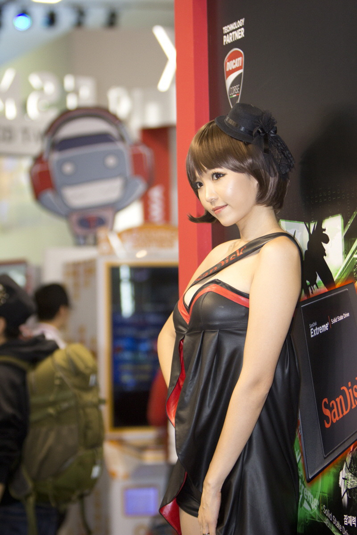 Showgirl G-star 2012: Lee Eun Hye - Ảnh 28