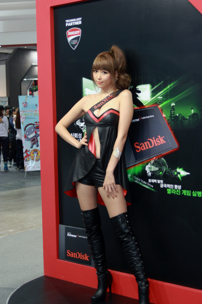 Showgirl G-star 2012: Lee Eun Hye - Ảnh 44