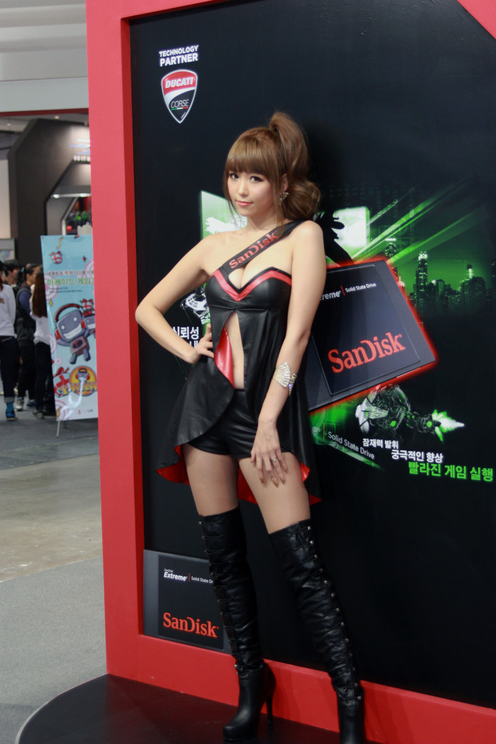 Showgirl G-star 2012: Lee Eun Hye - Ảnh 45