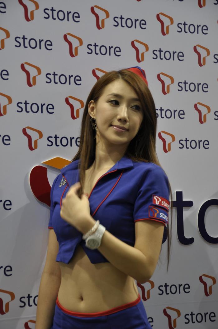 Showgirl G-star 2012: Lee Sung Hwa - Ảnh 3