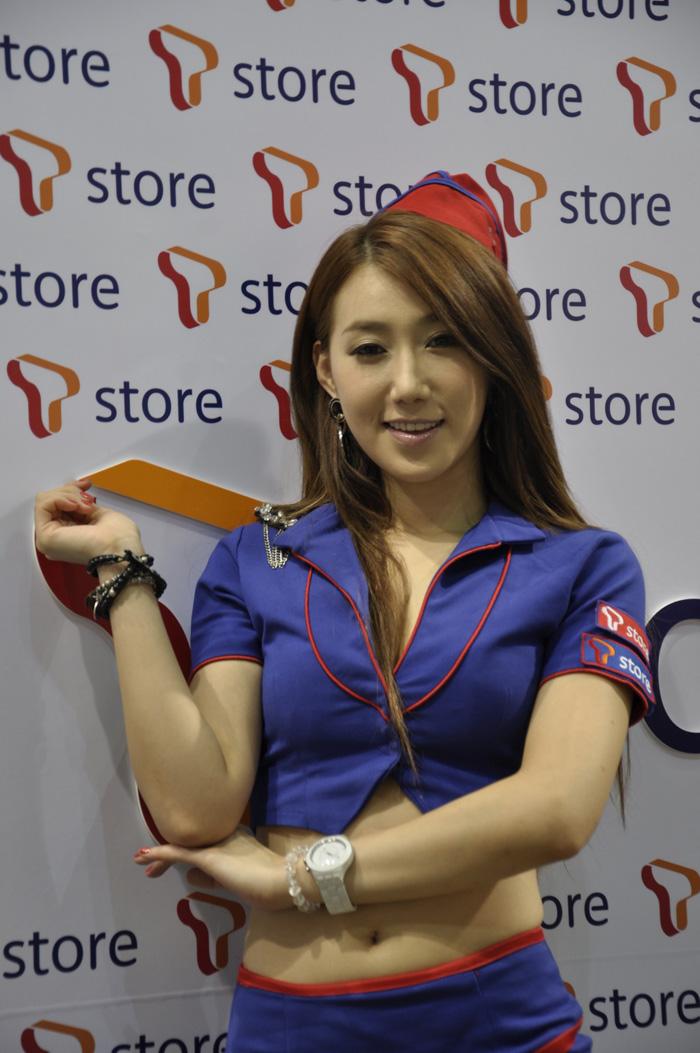 Showgirl G-star 2012: Lee Sung Hwa - Ảnh 5