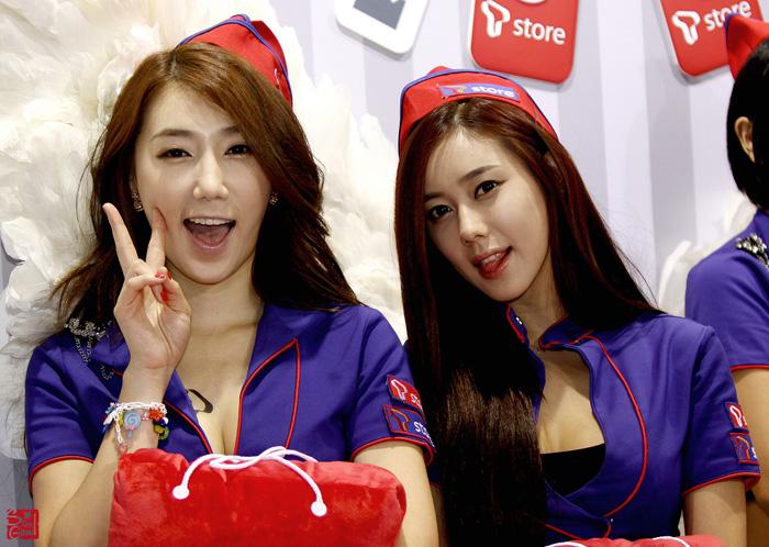 Showgirl G-star 2012: Lee Sung Hwa - Ảnh 7