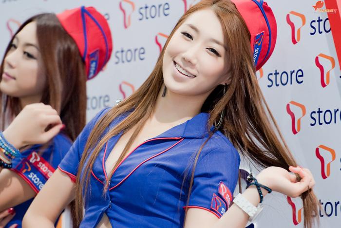Showgirl G-star 2012: Lee Sung Hwa - Ảnh 8