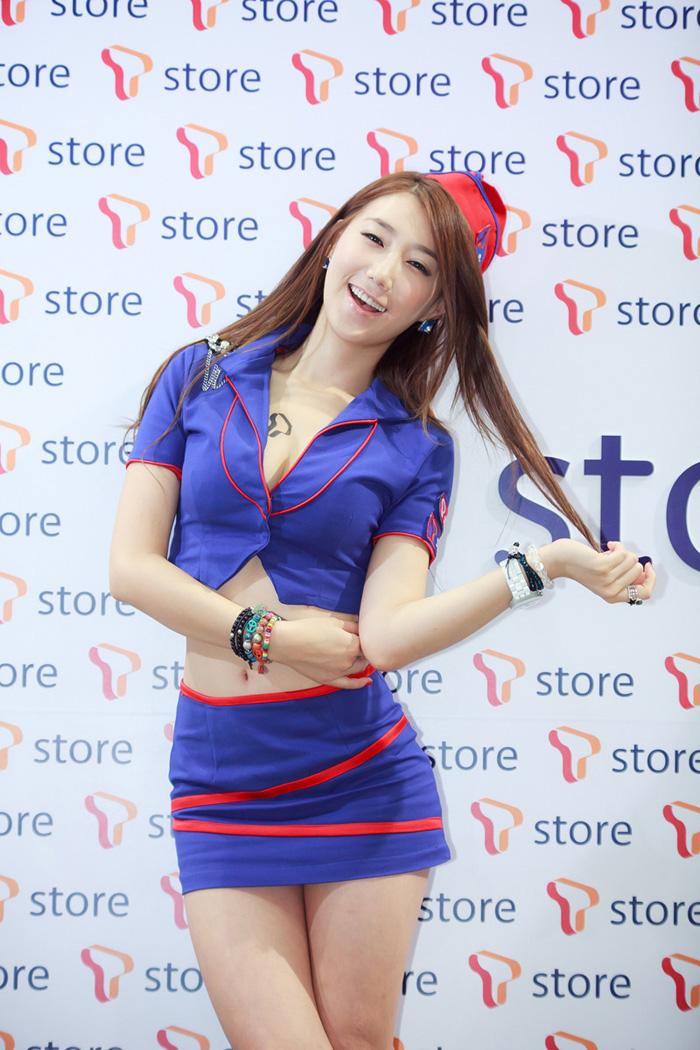 Showgirl G-star 2012: Lee Sung Hwa - Ảnh 12