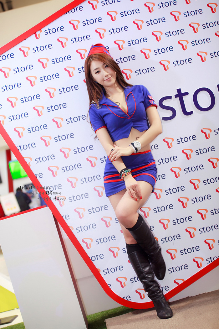 Showgirl G-star 2012: Lee Sung Hwa - Ảnh 13