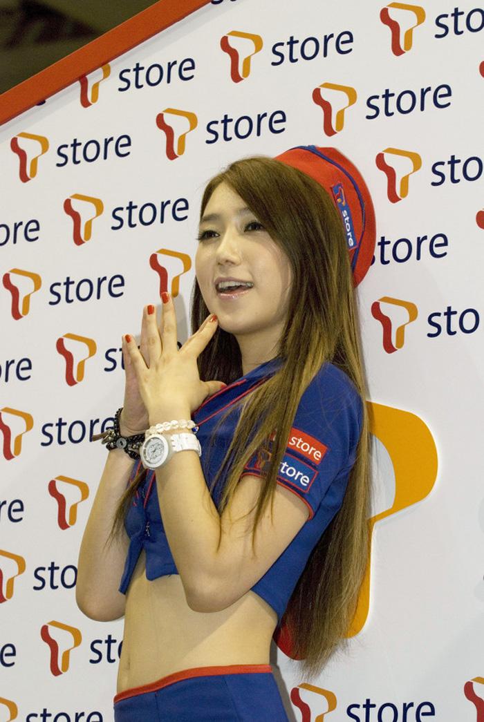 Showgirl G-star 2012: Lee Sung Hwa - Ảnh 14
