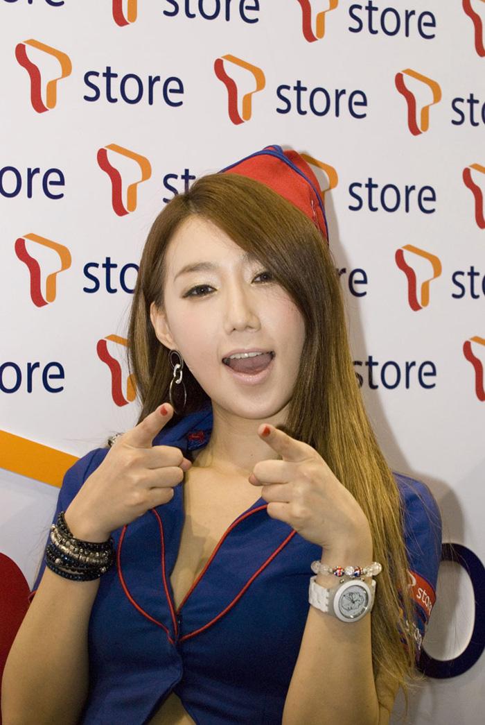 Showgirl G-star 2012: Lee Sung Hwa - Ảnh 19