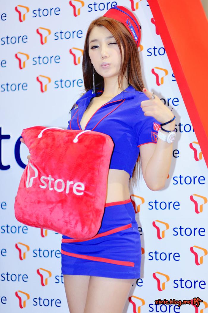 Showgirl G-star 2012: Lee Sung Hwa - Ảnh 22